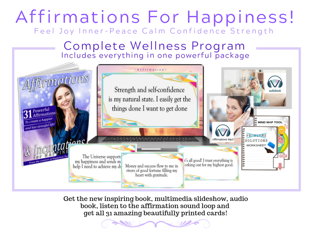 Positive affirmations for happiness program